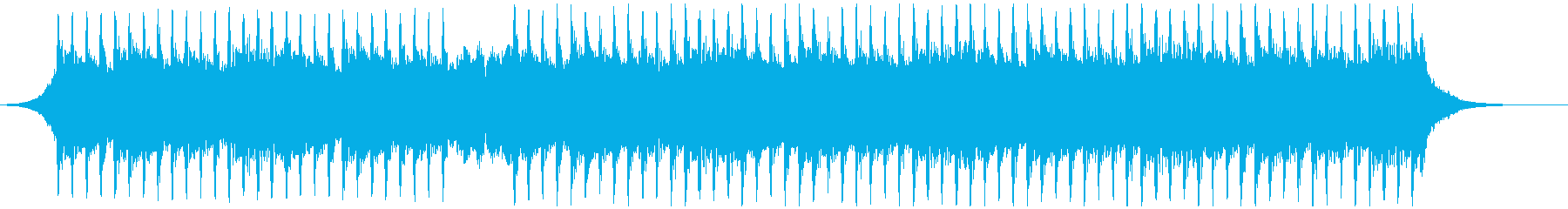 機関(60秒)の再生済みの波形