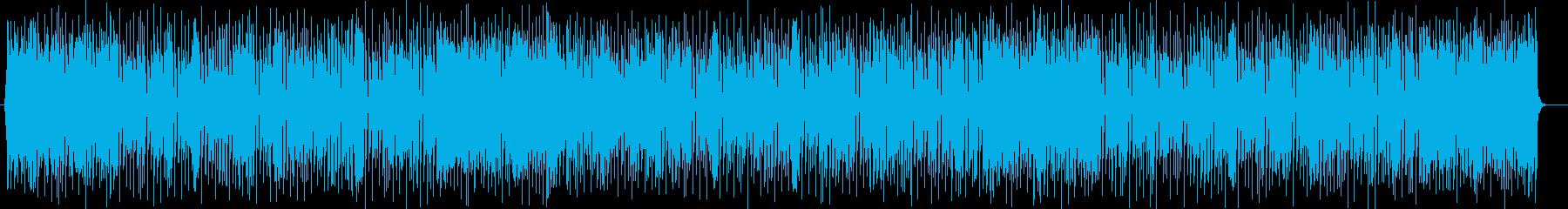 ファンタジーなシンセサイザーポップの再生済みの波形