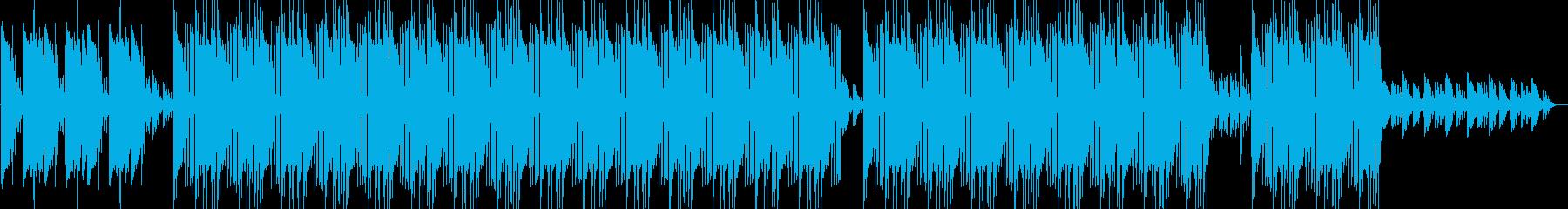 和風 ヒップホップ ビート 登場 ギターの再生済みの波形