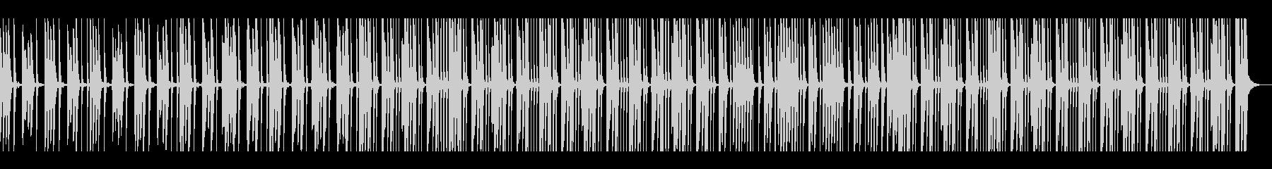 キュートでキャッチーなメルヘンの世界の未再生の波形