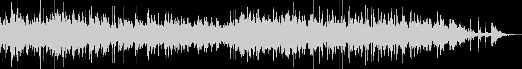 切ないメロディックなピアノソロの未再生の波形