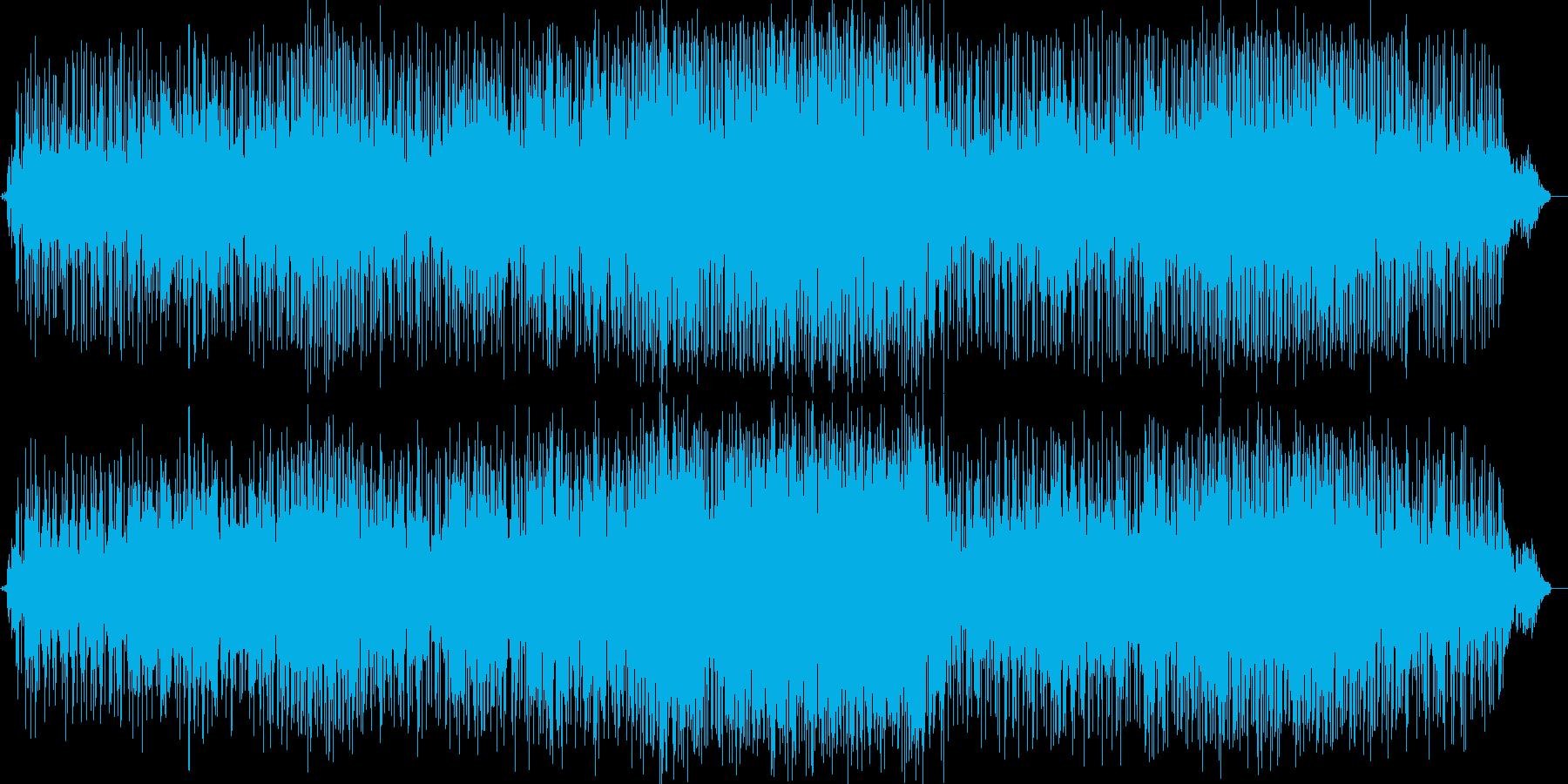ハーモニカが奏でるJazzyなメロデイ…の再生済みの波形