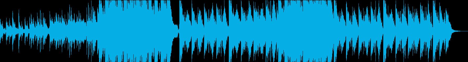 切ない 幻想的 感動 退廃 ピアノの再生済みの波形