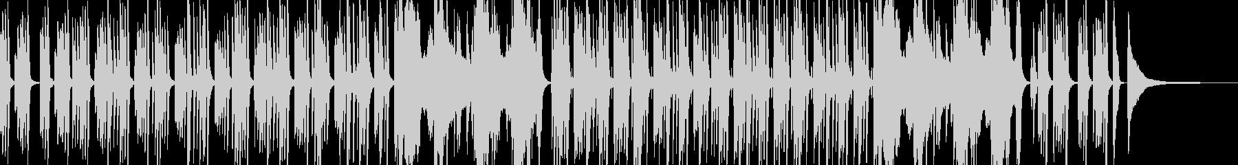 【ピアノ】日常の謎・ミステリーのBGMの未再生の波形