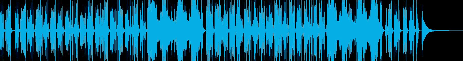 【ピアノ】日常の謎・ミステリーのBGMの再生済みの波形