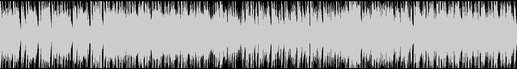 ヒップホップ系ジャズファンク ※ループ版の未再生の波形