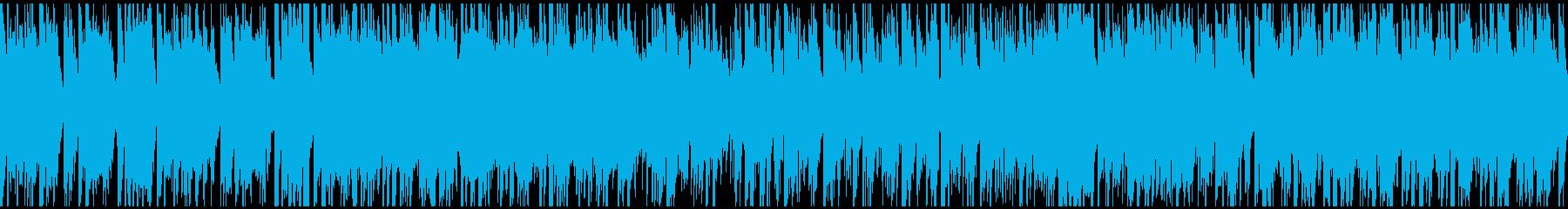ヒップホップ系ジャズファンク ※ループ版の再生済みの波形