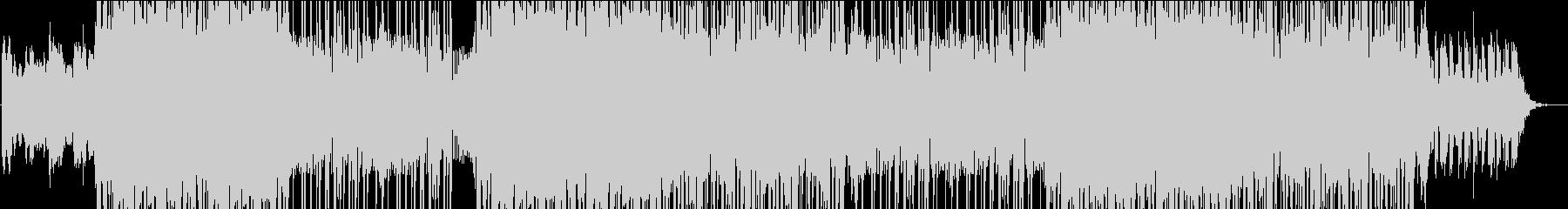 エネルギッシュなダークトラックの未再生の波形