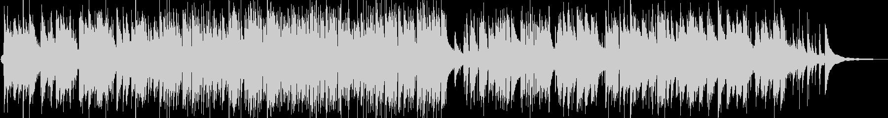 童謡のジャズピアノトリオの未再生の波形
