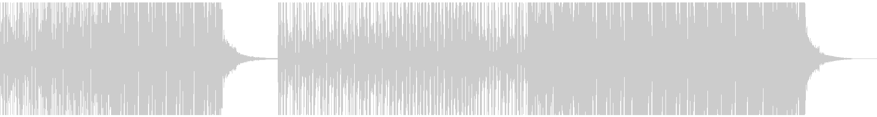 カッコイイEDMフューチャートランスの未再生の波形