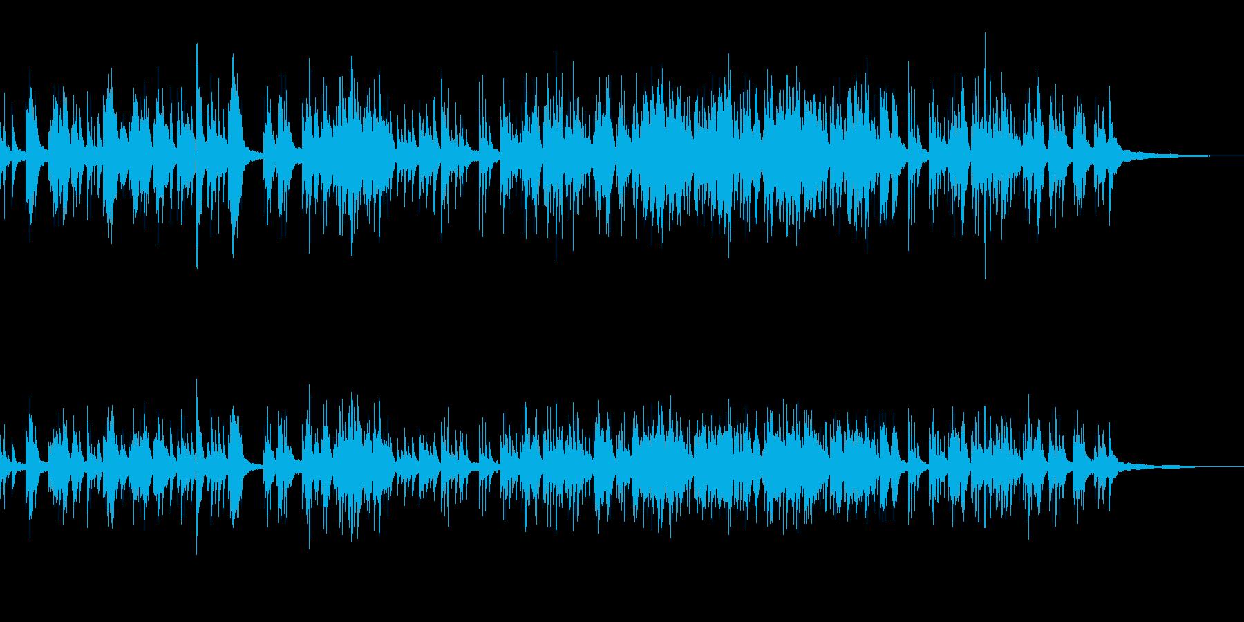 リラックス&優しさ 生演奏のピアノ の再生済みの波形