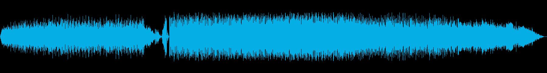 重々しく不安定なバットエンディング楽曲の再生済みの波形