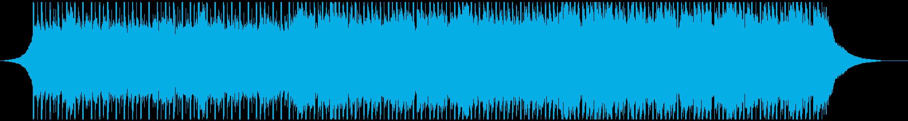 コーポレートアップビート(60秒)の再生済みの波形