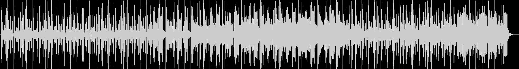 スローテンポのキラめくインストポップスの未再生の波形