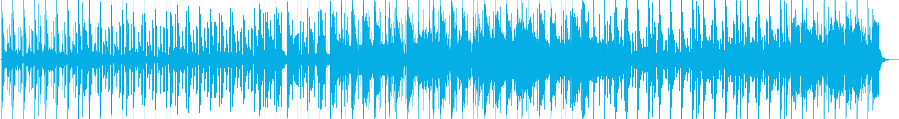 スローテンポのキラめくインストポップスの再生済みの波形