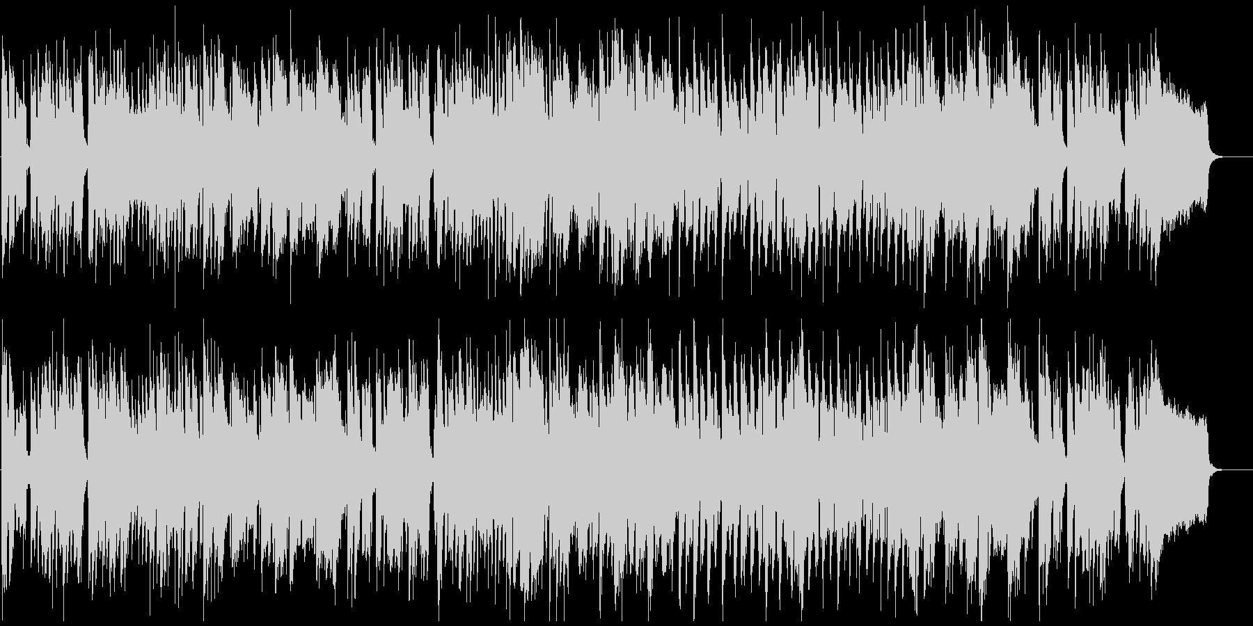 ゆるい脱力リコーダーのへっぽこブルースの未再生の波形