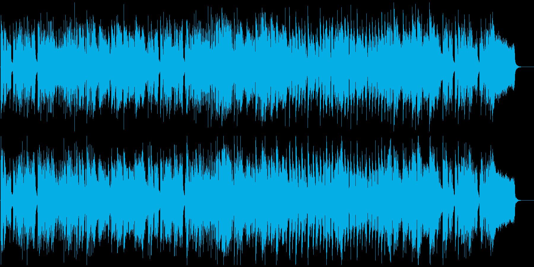 ゆるい脱力リコーダーのへっぽこブルースの再生済みの波形