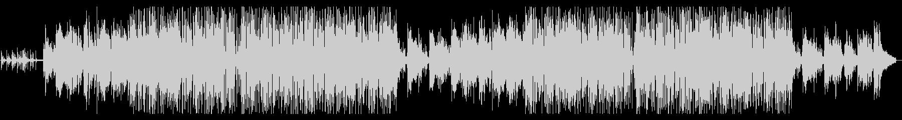 ピアノメロの落ち着いたスムースジャズの未再生の波形