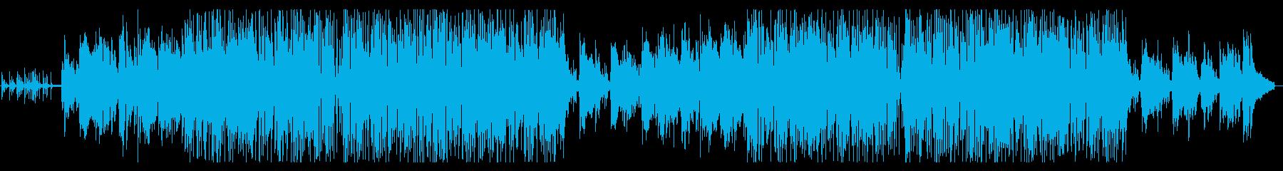 ピアノメロの落ち着いたスムースジャズの再生済みの波形