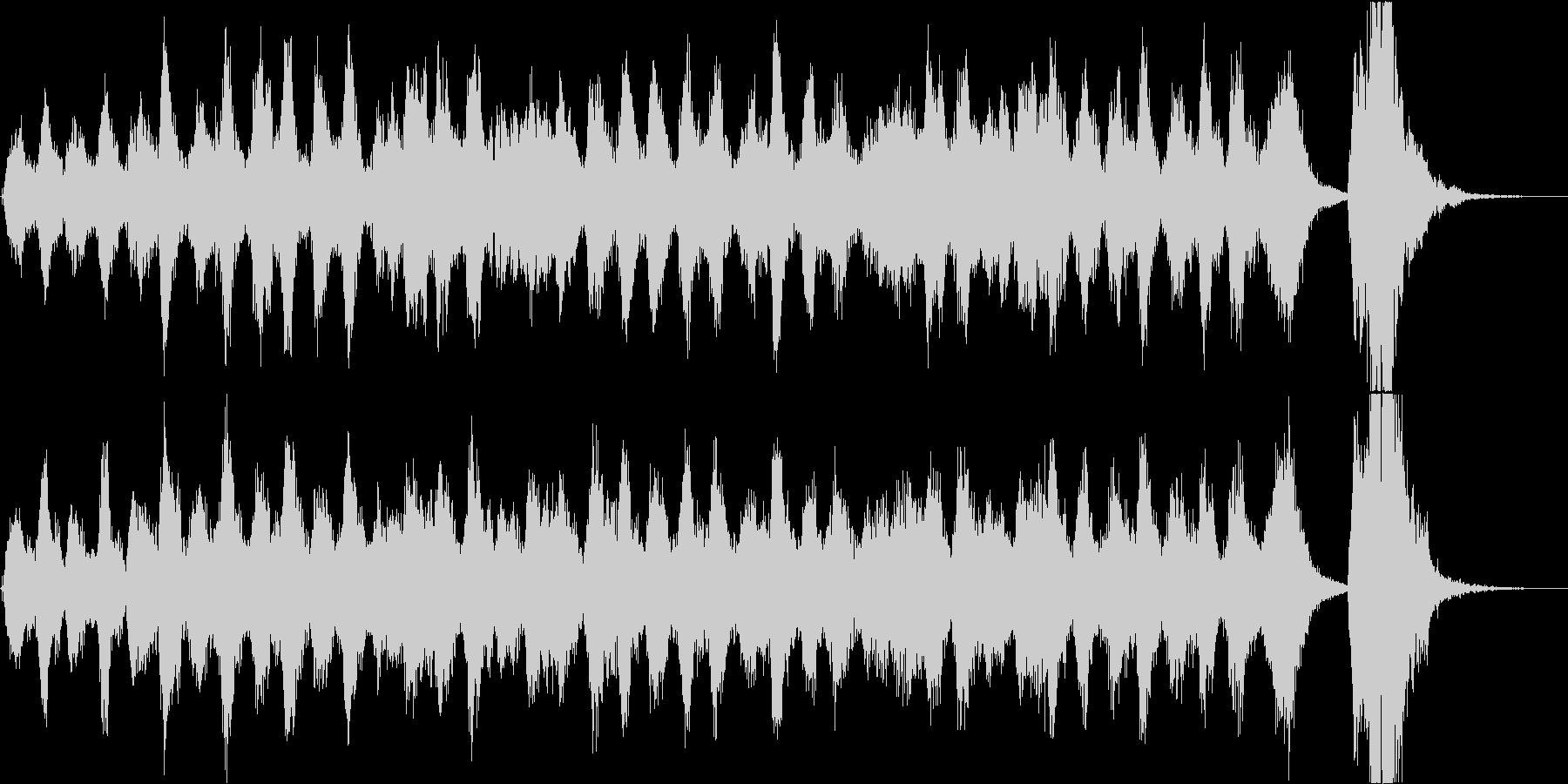 クラシック 弦楽四重奏でのアラベスクの未再生の波形