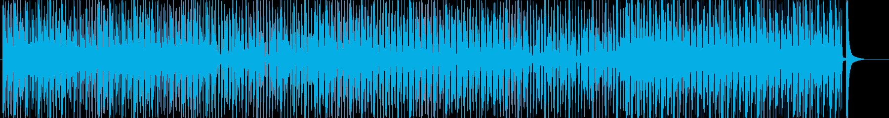 ウクレレとトイピアノのゆるかわBGMの再生済みの波形