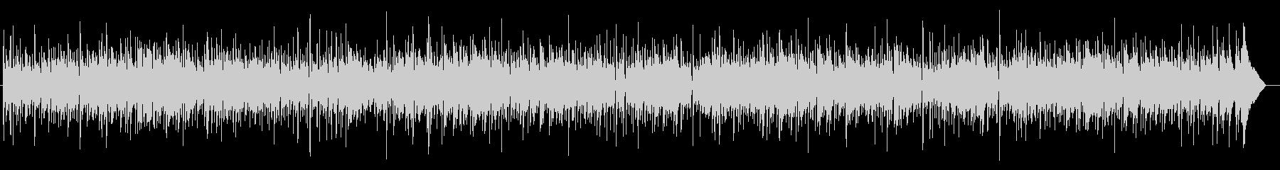 シンプルなアコギ2本のフォーク調BGMの未再生の波形