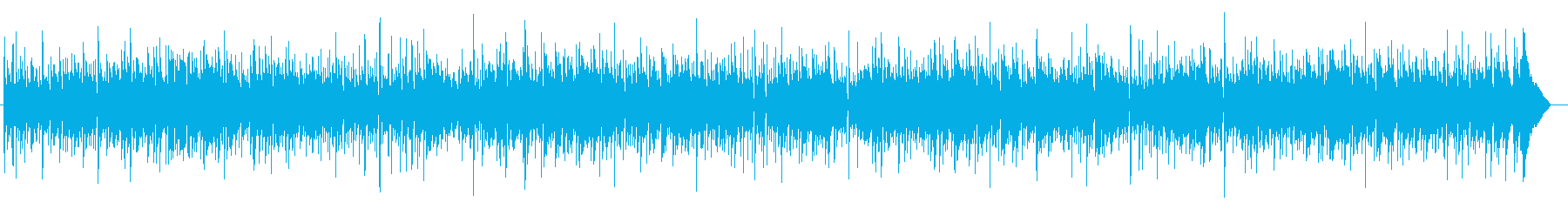 シンプルなアコギ2本のフォーク調BGMの再生済みの波形
