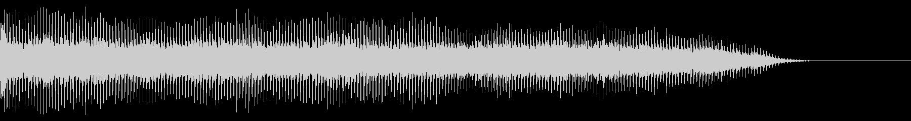 ガタガタガタガタ(リフトが稼働する)の未再生の波形