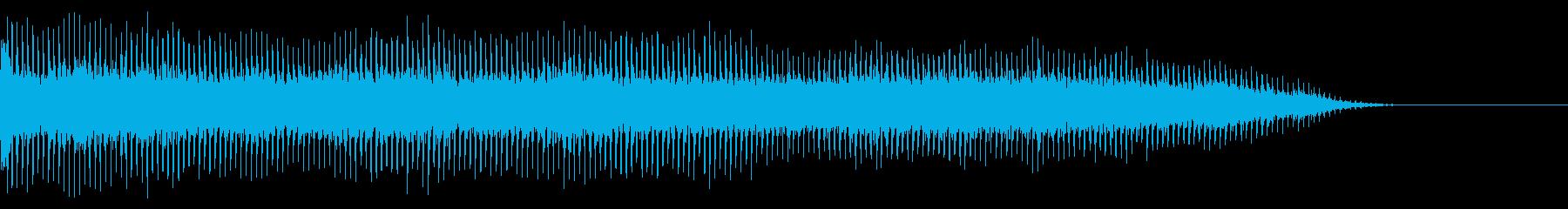 ガタガタガタガタ(リフトが稼働する)の再生済みの波形