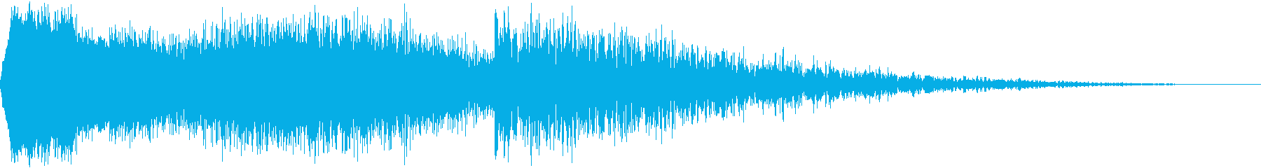 ボーダーコントロールスイープアクセントの再生済みの波形