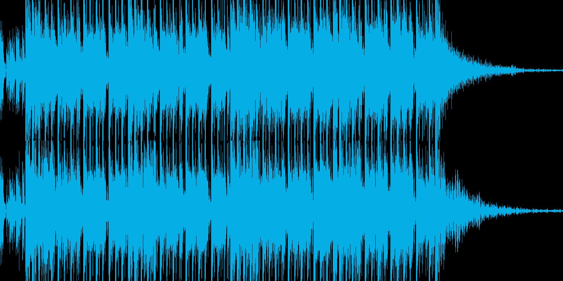 必死の運転感覚は、ニュースの移行や...の再生済みの波形