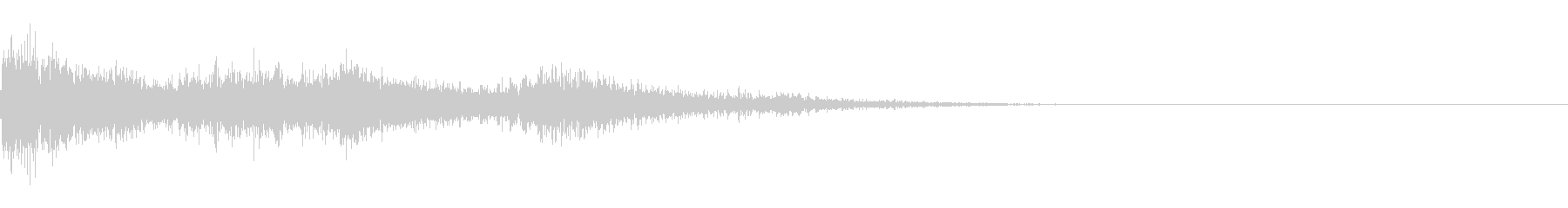 カミナリ(近雷)-08の未再生の波形
