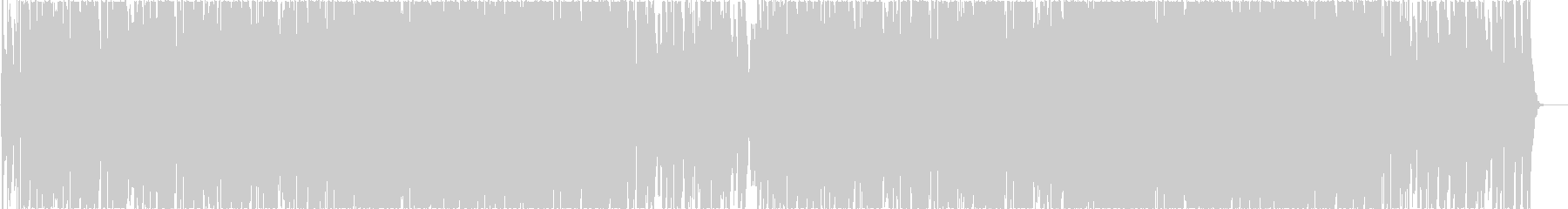 怪しいインド風トラップ・ヒップホップbの未再生の波形
