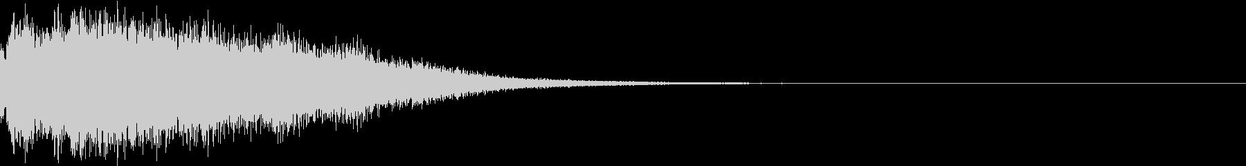 キラキラ 変化 おまじない 魔法 01の未再生の波形