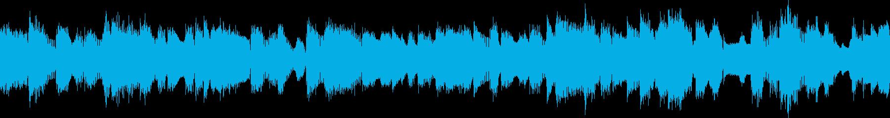 ビックバンドジャズ、スローバラードLPの再生済みの波形
