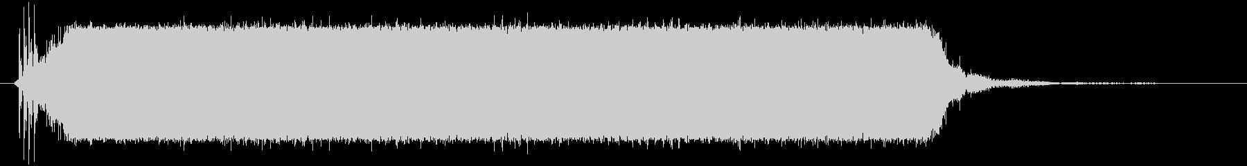 ノイズ スローコードライザー01の未再生の波形