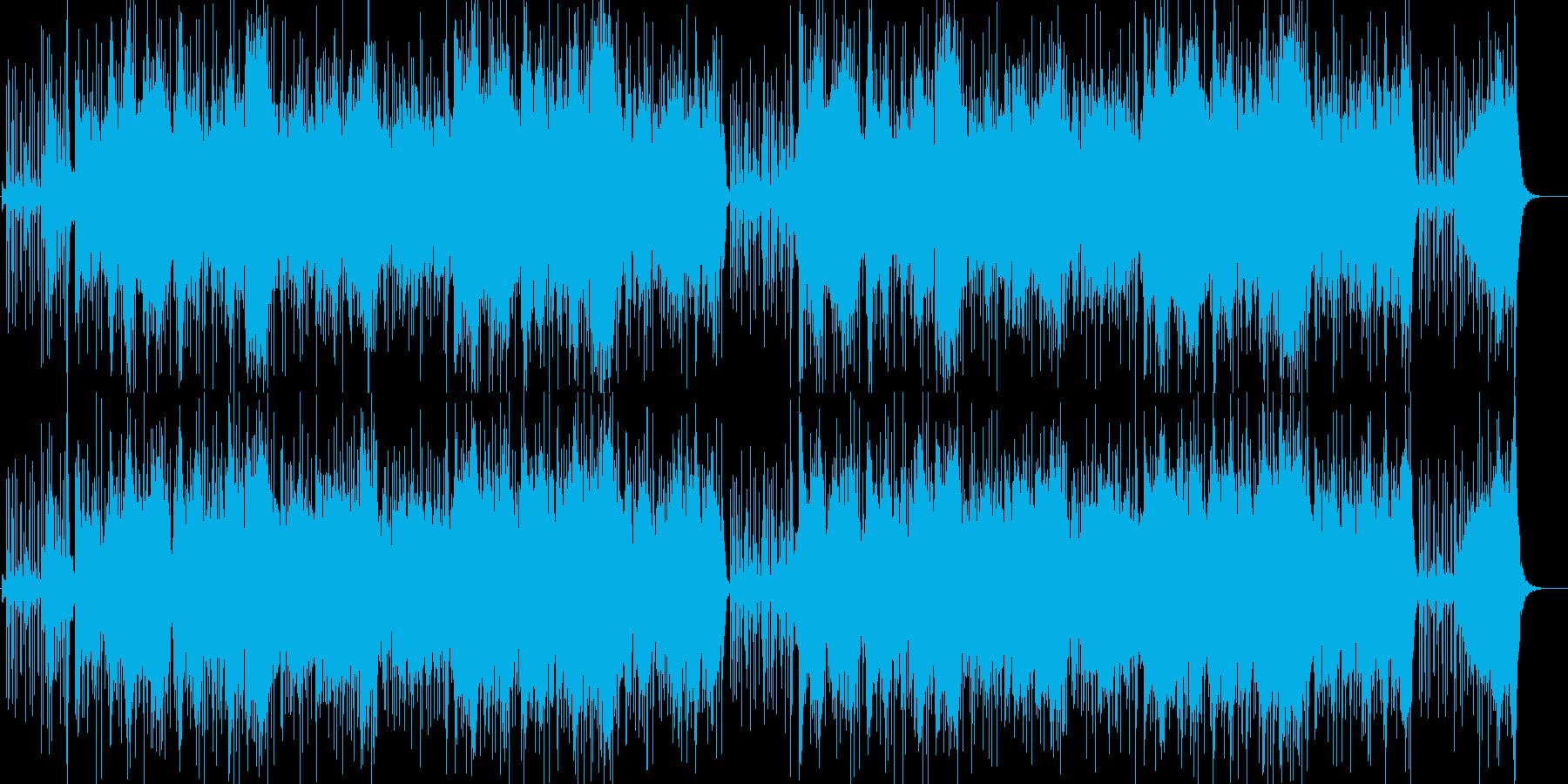 異国感漂う砂漠の曲の再生済みの波形