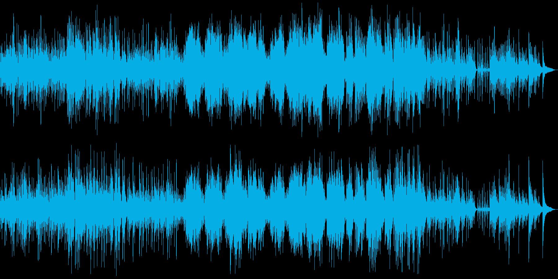 ショパン雨だれクラシックピアノでシックの再生済みの波形