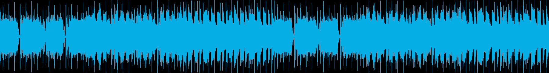 パワフル激しいYouTubeオープニングの再生済みの波形