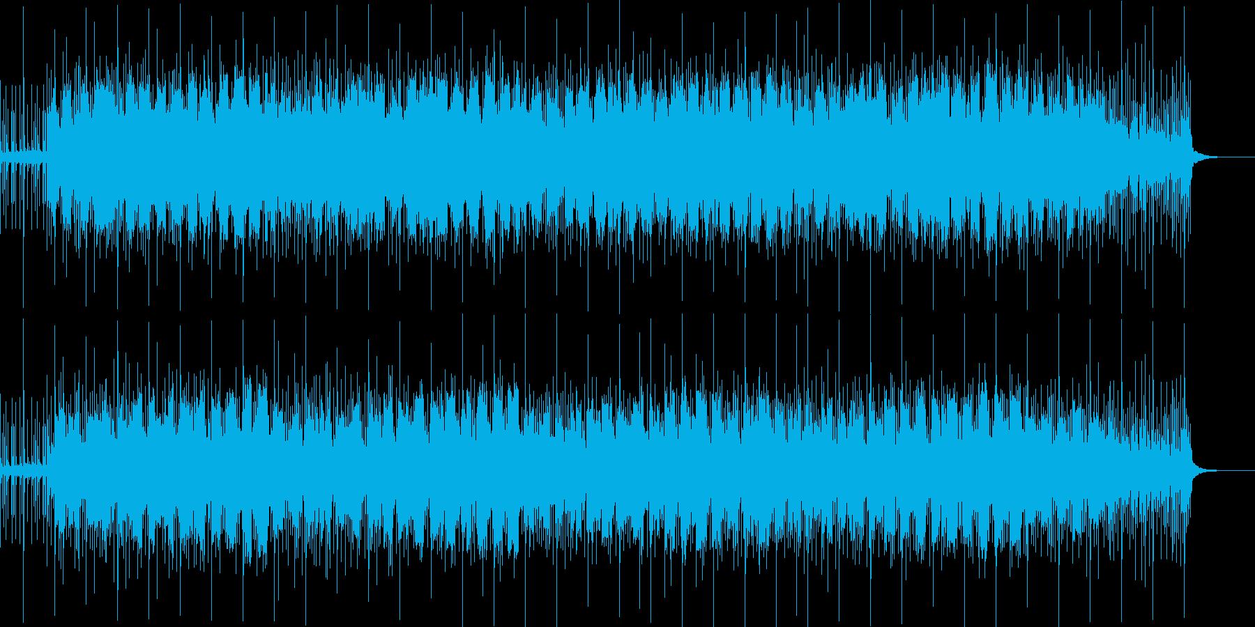 落ち着いた雰囲気のインスト。BGM。の再生済みの波形
