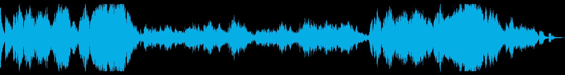 KANTショパン幻想即興曲の再生済みの波形