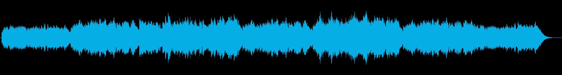 メロディアスで切ないオルゴール風バラードの再生済みの波形