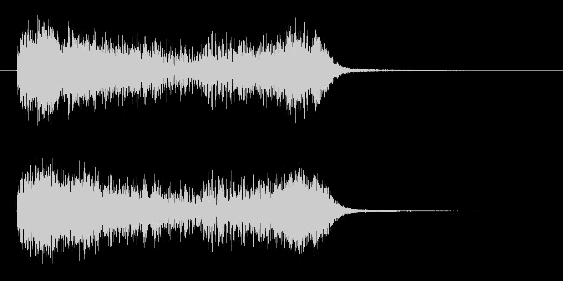 タイムスリップなどのファンタジーSEの未再生の波形