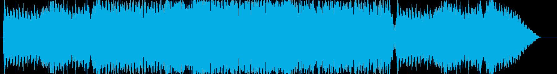 疾走感ある和風ロックの再生済みの波形