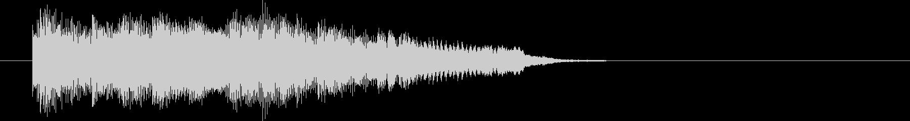 ちょっとエッチなサックスによる場面転換の未再生の波形