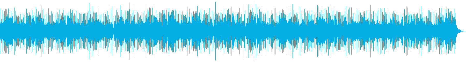 モダンロックの再生済みの波形