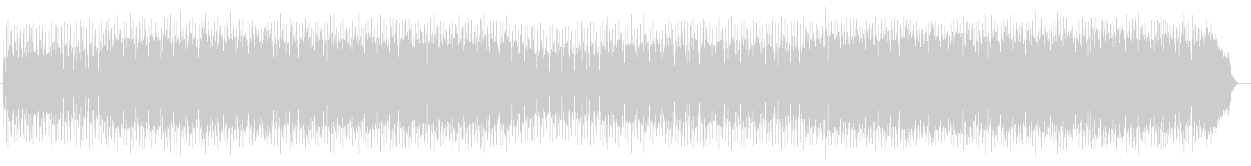 リズミカルで煌びやかなピアノサウンドの未再生の波形