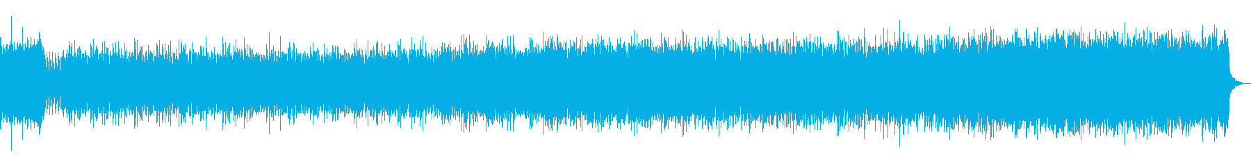 パッヘルベル カノンのエレクトリカルの再生済みの波形