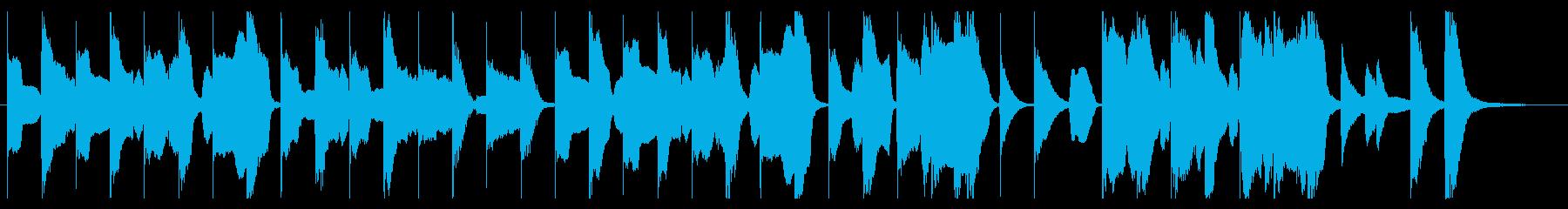 動物の映像等に使えるほのぼのしたジングルの再生済みの波形