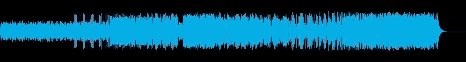 幻想系×DANCE BEATの再生済みの波形